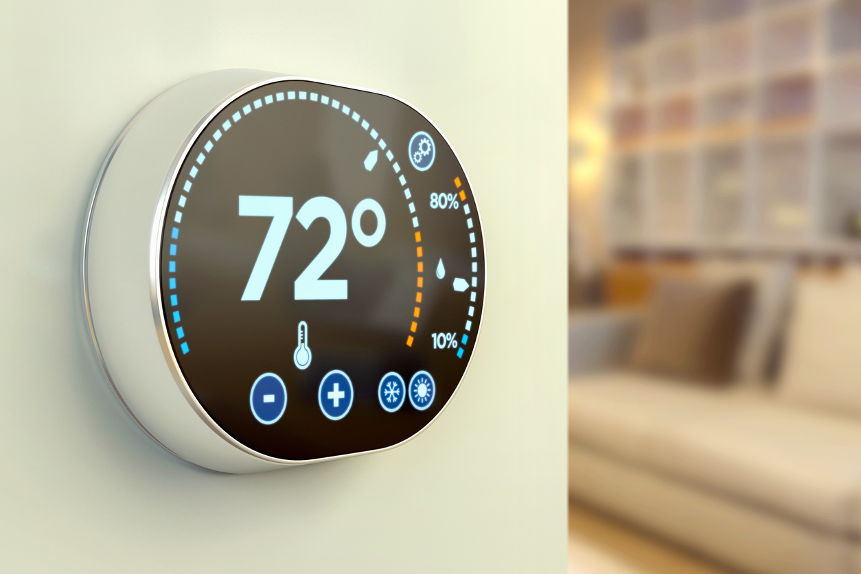 Lutherville-Timonium Rental Home Equipped with a Smart Thermostat