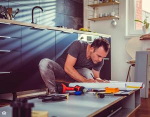 Eldersburg Landlord Repairing the Kitchen Cabinets