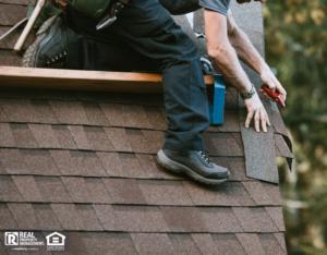 General Contractor Installing New Roof on Moorhead Rental