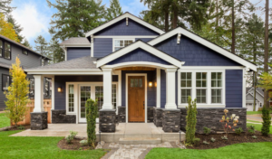 Exterior View of a Beautiful Rental Home in Old Southwest