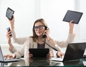 St. Clair Shores Multitasking Businesswoman