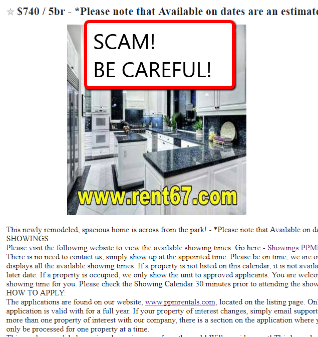 Craigslist Apt For Rent By Owner: Be Wary Of Fraudulent Craigslist Rental Ads