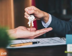 Austin Investor Being Handed a Set of Keys