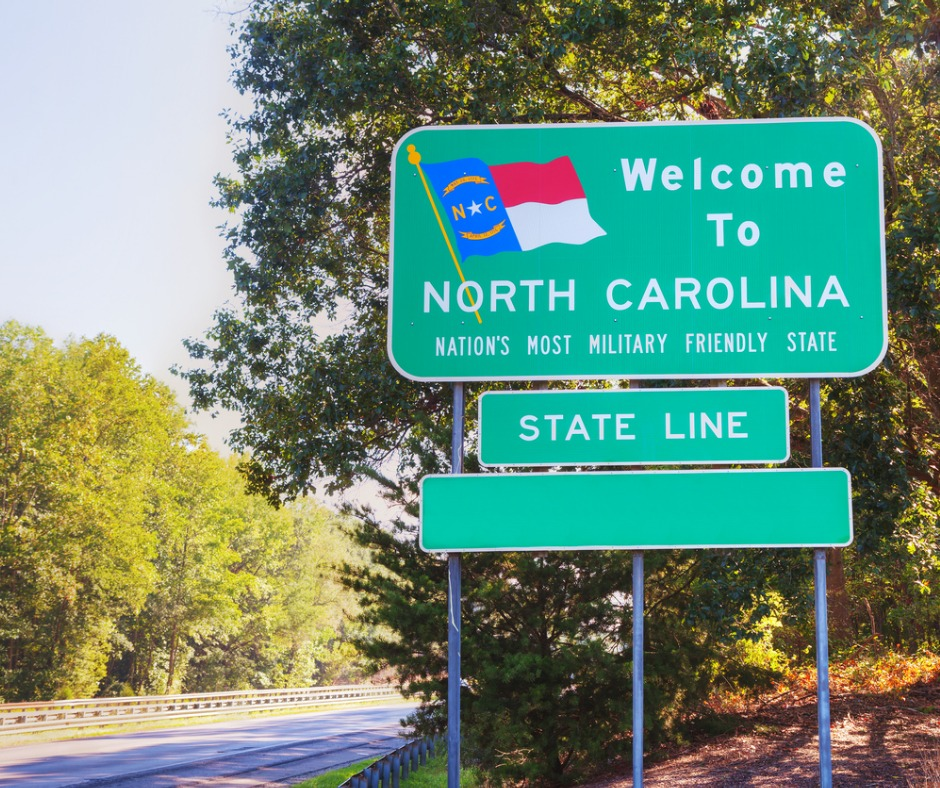 Welcome to the Beautiful State of North Carolina