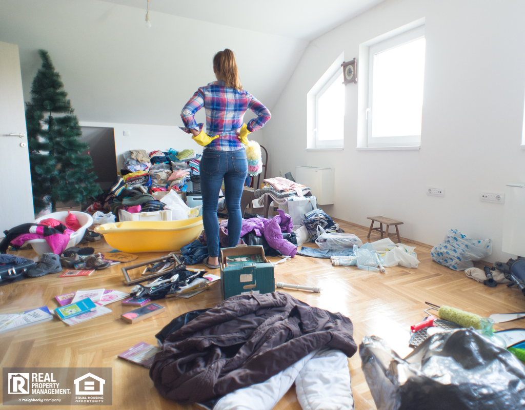 Mountain House Woman Decluttering Her Home