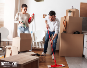 Mountain House Couple Moving out and Cleaning