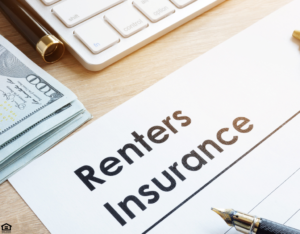 Document Labeled as Renters Insurance for a Tenant in Boonville