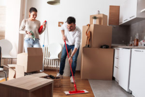 Sunny Isles Beach Couple Moving out and Cleaning
