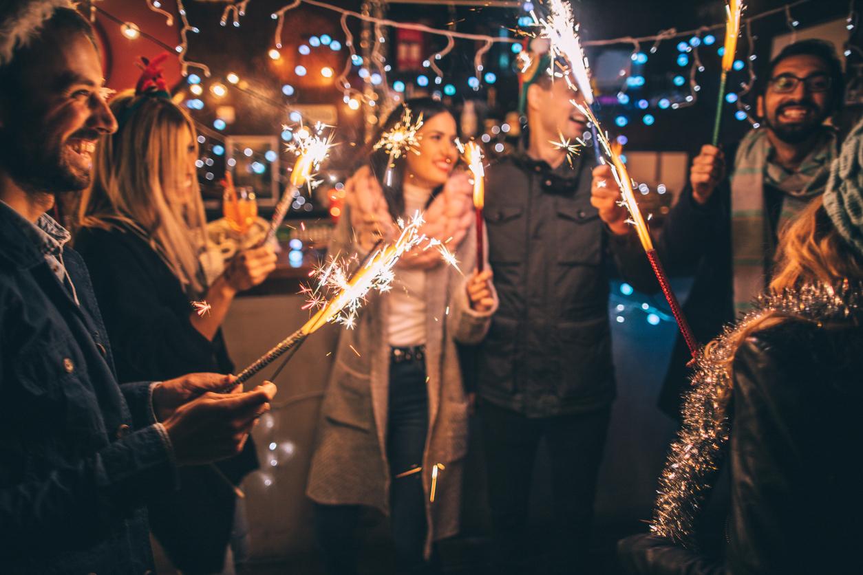 Hayward Tenants Having Fun with Fireworks on New Year's Eve