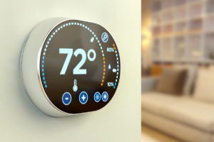 Harker Heights Rental Home Equipped with a Smart Thermostat