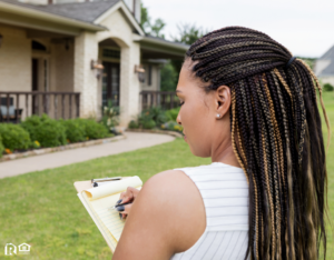 Brazos County Property Manager Evaluating a Rental Property