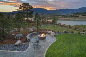 A Newly Landscaped Backyard in a Bonita Springs Rental Property