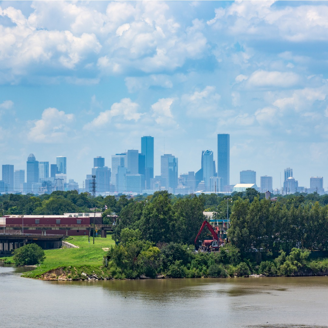 Panoramic View of Houston TX
