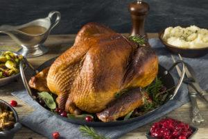 Homemade Smoked Turkey Dinner for Thanksgiving Dinner in Houston