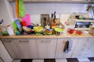 Fort Worth Messy Kitchen