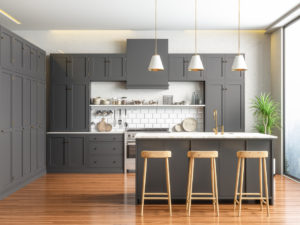 A Newly Remodeled Kitchen in a Amsterdam Rental Property