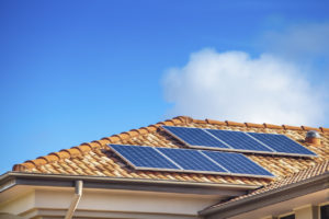 Solar Panels on Lebanon Rental Home