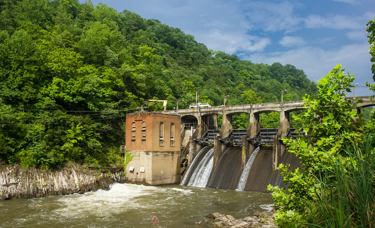 Little River Dam in Radford VA