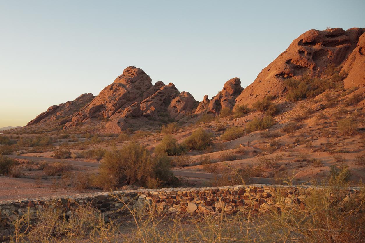 Arizona Desert Red Rocks