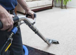 Dallas Carpet Cleaners Using Industrial Equipment to Clean Carpets