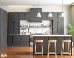 A Newly Remodeled Kitchen in a Back Bay Rental Property