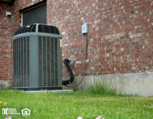 Boston Rental Property with an Outdoor Air Conditioning Unit