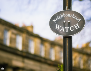 Trophy Club Neighborhood Watch Sign