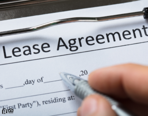 Signing a Lease Agreement for a Flower Mound Rental Property