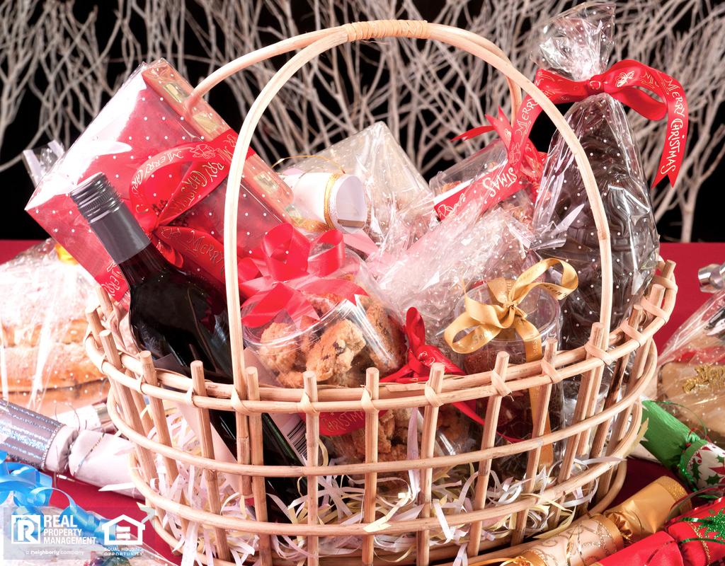Christmas Gift Basket for Wilmington Tenants