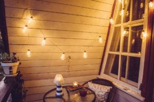 Colorado Springs Rental Home with a Retro Style Balcony