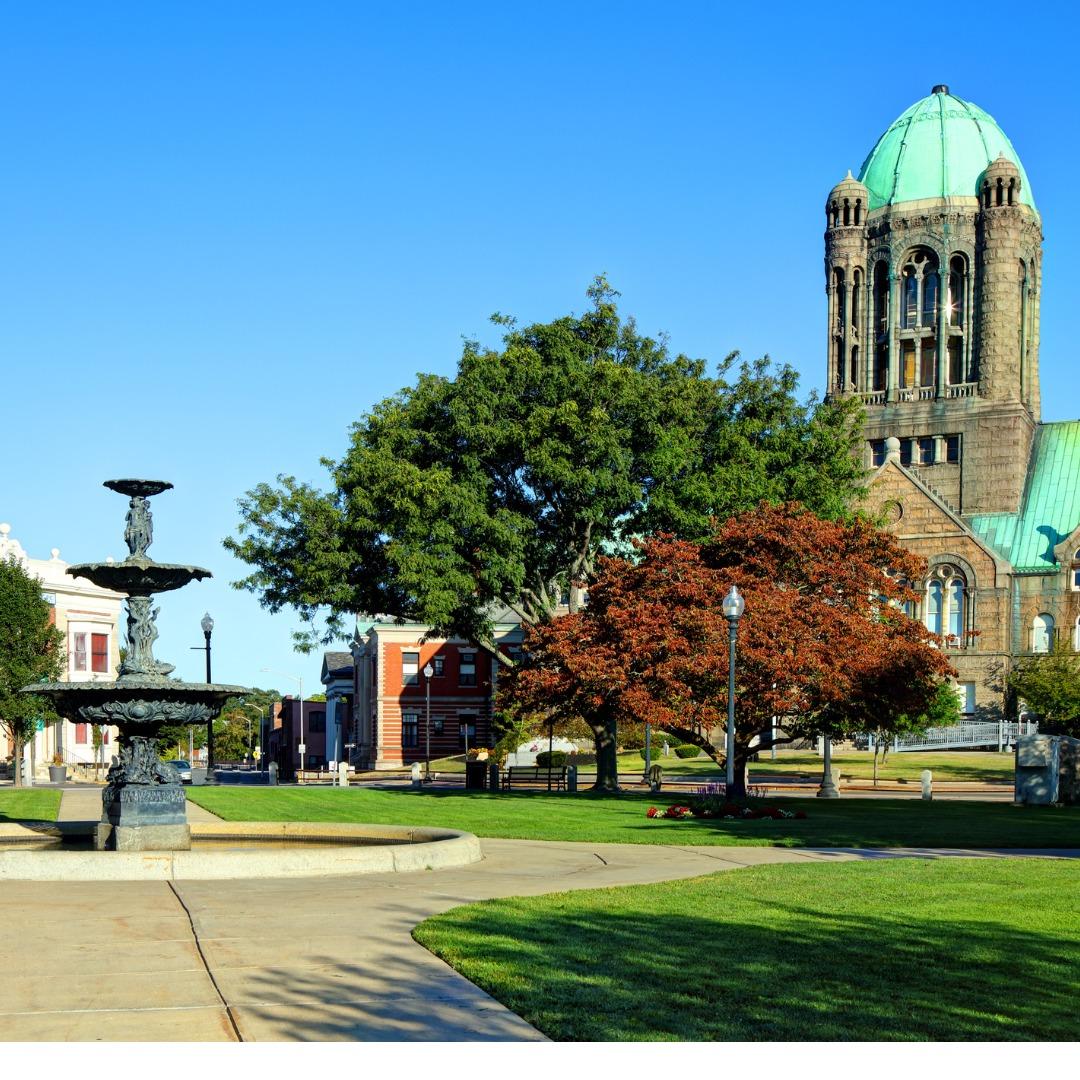 Downtown Taunton, Massachusetts