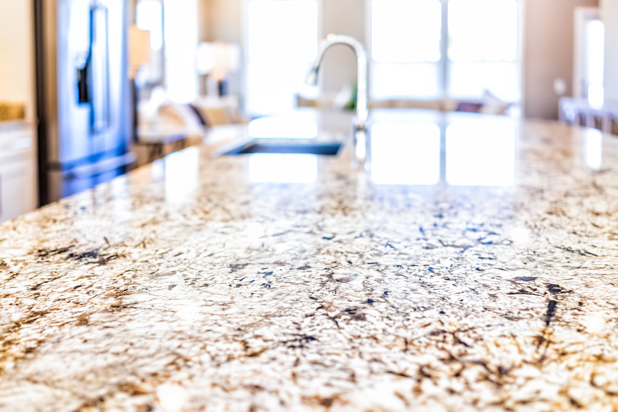 Update Your Marietta Rental Property with New Countertops in the Kitchen