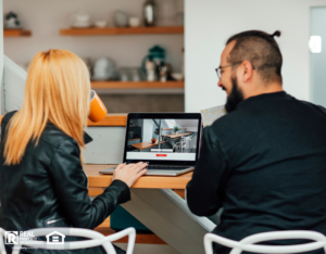 Winter Garden Renters Looking at Online Apartment Tours