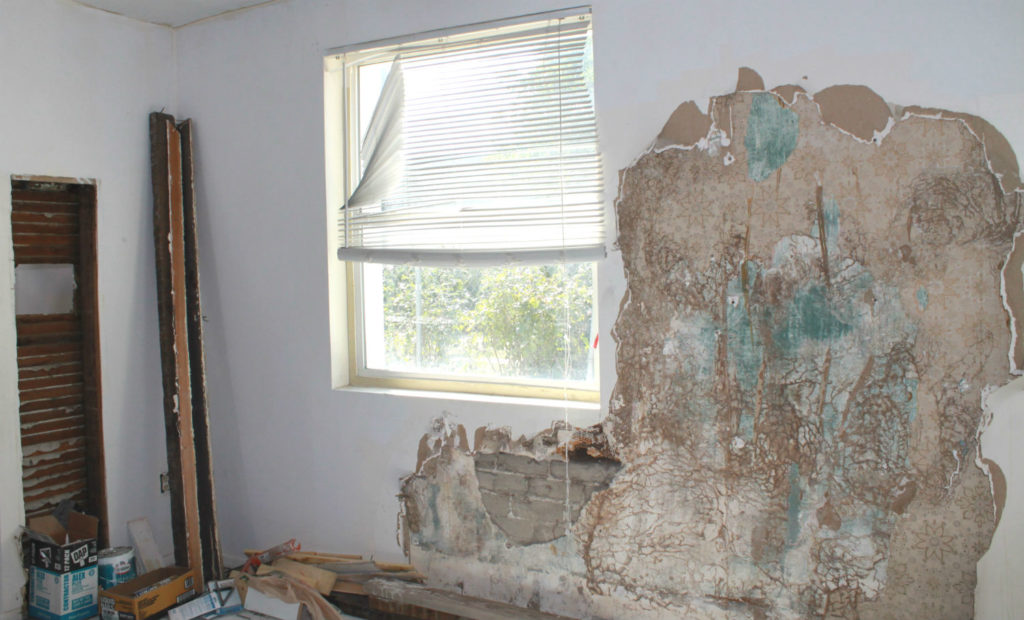 Southern Maryland Rental Property Being Restored After Mold Remediation Services