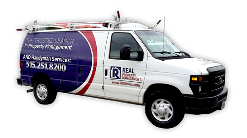 Real Property Management Des Moines Maintenance Truck