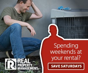 Spending weekends at your rental ad
