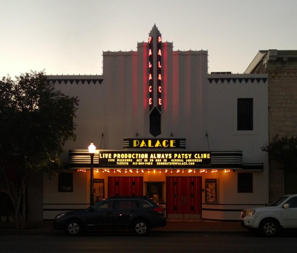 Historical Palace Theater in Downtown Georgetown TX