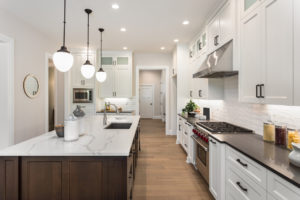Austin Rental Property with Hardwood Flooring and Granite Countertops in Their Upgraded Kitchen