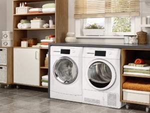 Cute and Organized Laundry Room in Exeter Rental Home