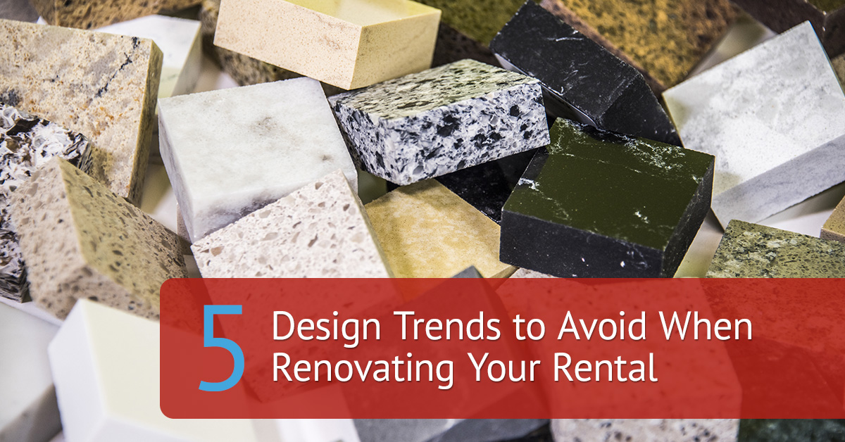 5 design trends to avoid when renovating your rental - Decorating trends to avoid ...