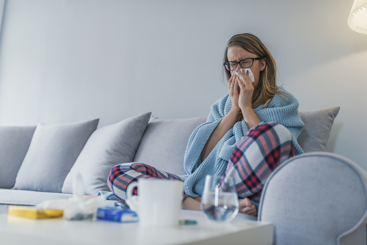 Quincy Tenant with the Sniffles due to Allergies