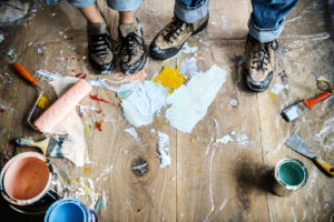 Houston Tenants Making Messes While Renovating Your Rental Property