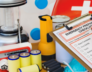 Emergency Preparation Kit for Cypress Rental Home