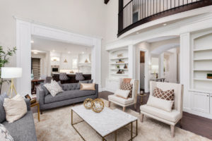 Wake Forest Rental Property with a Beautifully Designed Living Room