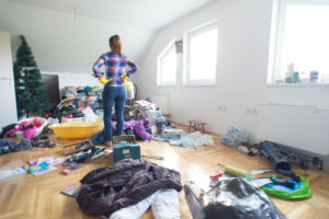 Huntersville Woman Decluttering Her Home