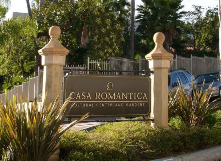 Casa Romantica Environmental Graphics Wayfinding Specialty Graphics Exterior Identity Monument Signage