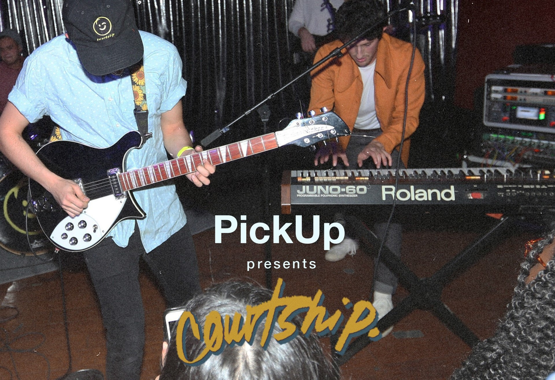 PickUp and Baby's All Right presents: COURTSHIP. Live in Brooklyn for FREE!