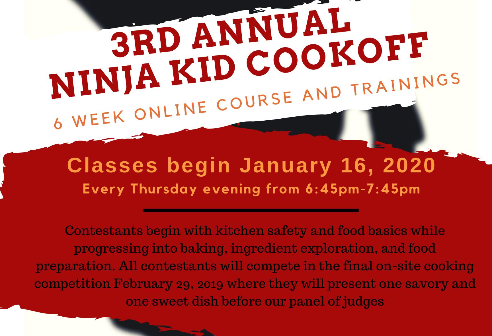 Ninja Kid Cook-Off