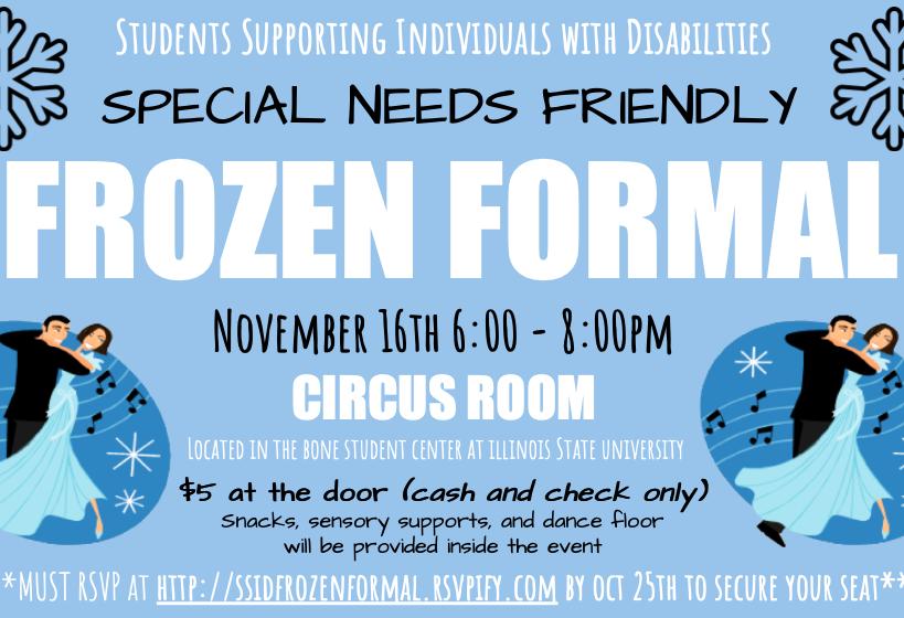 SSID's Frozen Formal