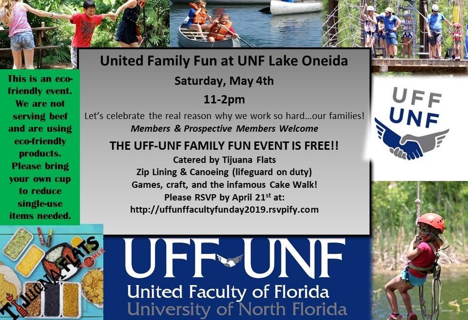 UNF/UFF Faculty fun day